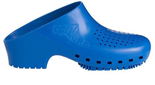 CALZURO S - Zuecos de goma para mujer azul claro