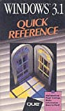 Windows 3.1 Quick Reference, Que Development Group Staff, 0880227400