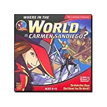 SoftKey Where in the World Is Carmen Sandiego? Classic