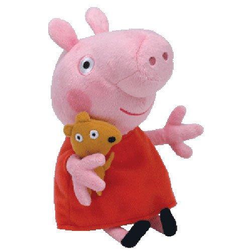 Ty Peppa Pig Stuffed Animal Plush Beanie Babies Doll Toy 1 rating Thailand SG/_B01IEFTZ30/_US