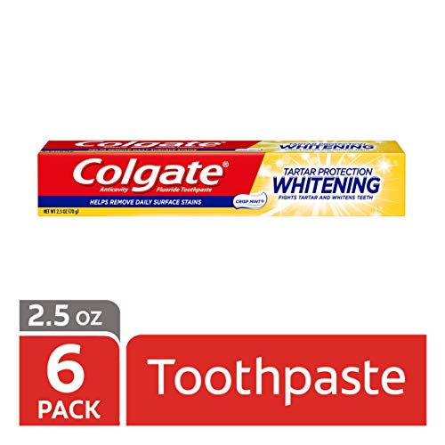 (Colgate Tartar Protection Travel Size Toothpaste, Mint - 2.5 ounce (6 Pack))