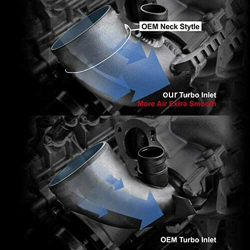 Kyostar Universal Black 3 Inch 76mm Air Intake Cone Filter Replacement Quality Dry Air Filter