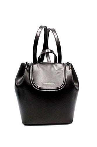 Emporio rosso Women's Armani Nero Backpack 4pq4OxBn
