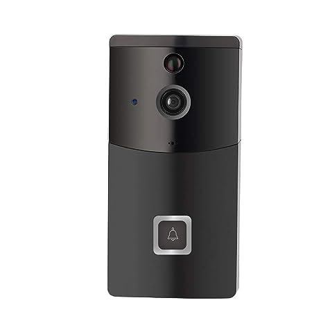 gaeruite Timbre de Video inalámbrico, cámara de Seguridad WiFi Timbre Inteligente B10 para teléfono móvil