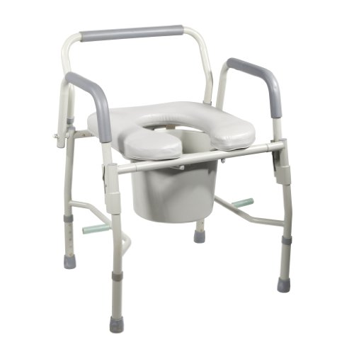 Drive Medical Bedside Commode Padded