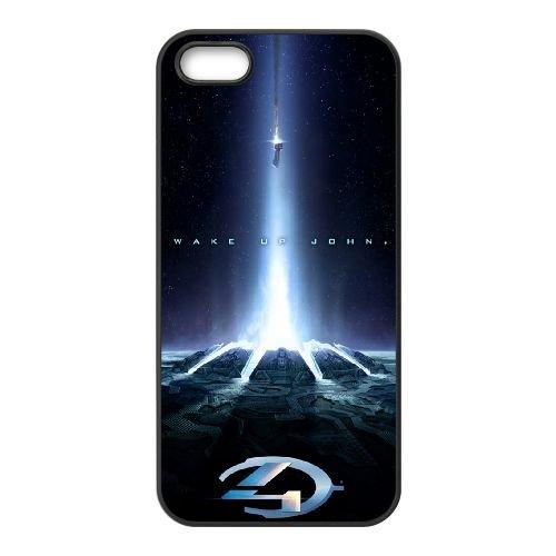 Halo 4 2012 coque iPhone 4 4S cellulaire cas coque de téléphone cas téléphone cellulaire noir couvercle EEEXLKNBC25556