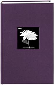 Álbum de fotos Pioneer Photo Albums com capa de tecido com moldura, 300 bolsos, comporta fotos de 10 x 15 cm,