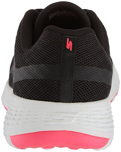 Skechers Womens Go Walk Cool-15651 Sneaker Nero / Rosa Caldo