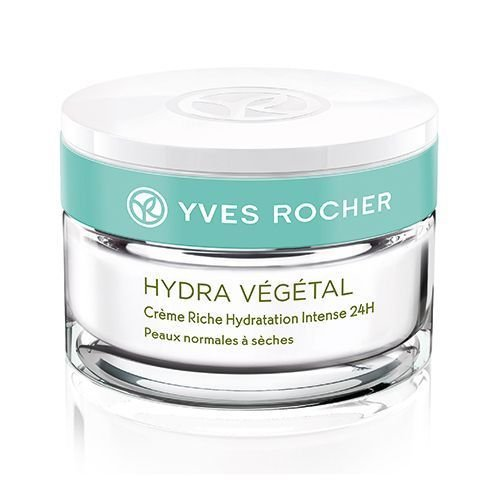 Yves Rocher Hydra Vegetal 24H Rich Hydrating Cream 1.6 Oz