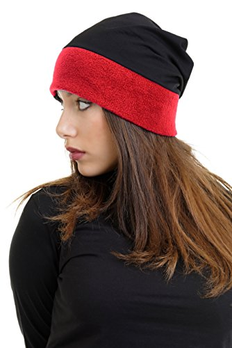 Polar Berlin mujer de Red para Made 3elfen In invierno Fleece Beanie andwwtqZ