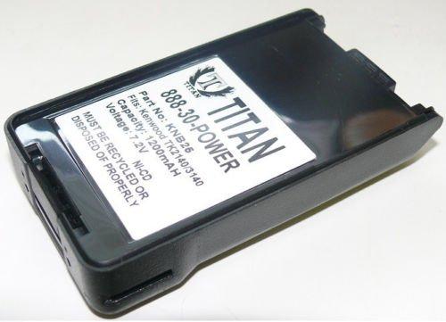MaximalPower RB KEN KNB-25A 1200mAh Ni-CD Two-Way Radio Battery for Kenwood TK-2140, TK-3140 (Black) -