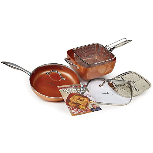 Copper chef 11 xl cookware set 7 pc kitchen cookware for Buy kitchen cookware