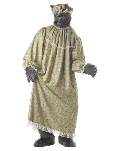 Wolf Granny Adult Costume (Big Bad Granny Wolf Costumes)