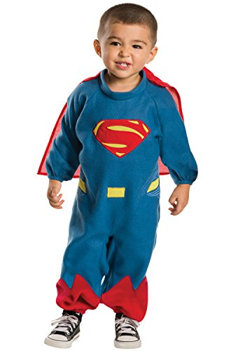 Rubie's Costume Dawn of Justice Superman EZ-On Costume Romper, 2T