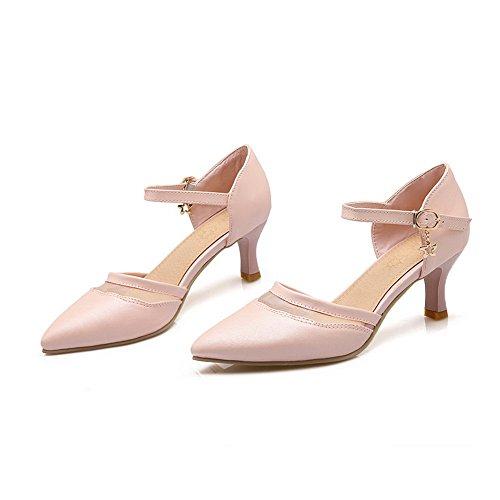 Sandales Femme SLC04069 Rose Compensées AdeeSu w5Y81qY