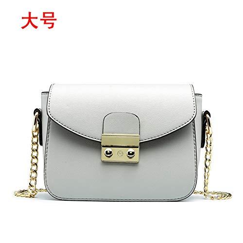 Fashion à à gray ZxxinZ size Chaîne Neuf Sac bandoulière Sac bandoulière Sac Main Fille à 7qnw1p5