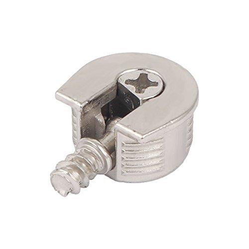 eDealMax 20mm Rosca cerradura de la leva de la aleación de soporte del estante Titular Espárragos soporte Pin 6mm
