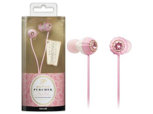 Hitachi Inner Ear Canal Headphone Pearl Pink ()