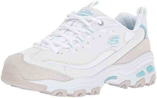 Skechers Sport Womens Womens DLites-New Journey Sneaker White Natural v2LTLtv5J