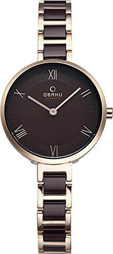 OBAKU watch VAND COFFEE 2 needle V195LXVNSN Ladies