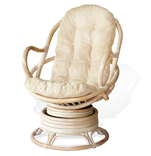 Swivel Rocker Chair Cushion - 6