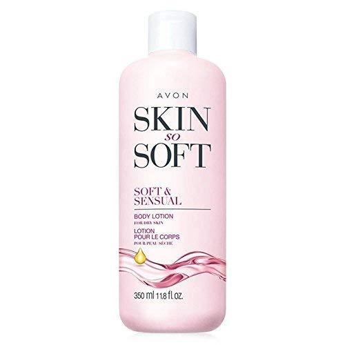 Avon Skin so Soft SSS Ultra Moisturiing Body Lotion Soft & Sensual Argan Oil 11.8oz.