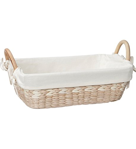 Basket Maize Natural Storage (Creative Bath Vanity Basket With Liner, Natural/Bleach)