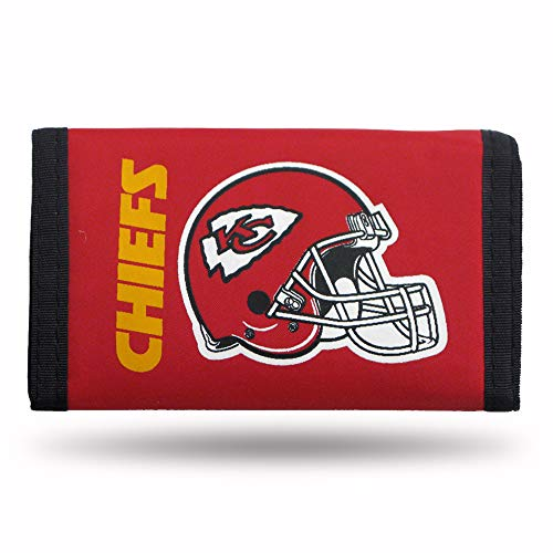 (Rico Industries NFL Kansas City Chiefs Nylon Trifold Wallet)