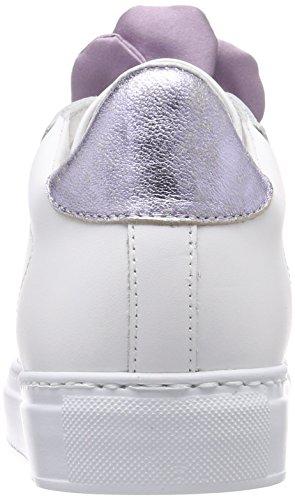 Donna Bianco Basse violet white Sneaker Scarpe Da Ginnastica Stokton XUqg74xw