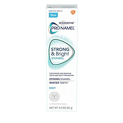 Sensodyne Pronamel Strong and Bright Toothpaste, 3 Ounce