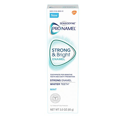 Sensodyne Pronamel Strong and Bright Mint Toothpaste, 3 Ounce