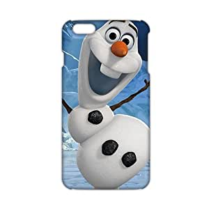 2015 Ultra Thin 3D Case Cover cartoon Frozen Phone Case for iPhone6 plus by runtopwell