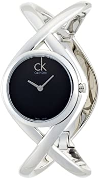 Calvin Klein Women's Enlace Analog Display Swiss Quartz Watch