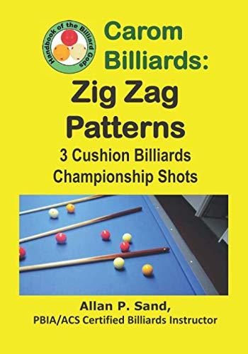 Carom Billiards: Zig-Zag  Patterns: 3-Cushion Billiards Championship - Cushion Billiard 3