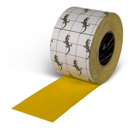 Grade Non Skid Safety Tape - Gator Grip : SG3304Y Premium Grade High Traction Non Slip 60 Grit Indoor Outdoor Colored Anti-Slip Tape, 4 Inch x 60 Foot, Yellow