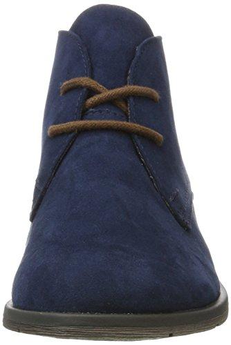 Marco Tozzi 25101, Botines para Mujer Azul (Navy Comb)