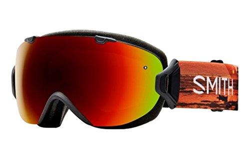 Smith Optics I/OS Adult Snowmobile Goggles Eyewear Elena Id / Red Sol-X - Id Eyewear