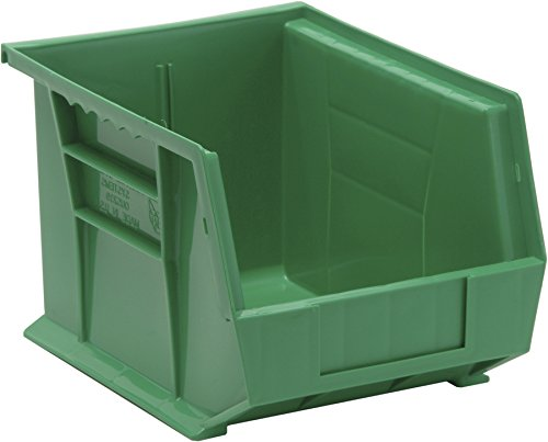 Quantum QUS239GN Green Ultra Stack and Hang Bin, 10-3/4