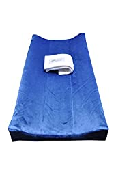 PooPoose Changing Pad Cover (Boston Blue)