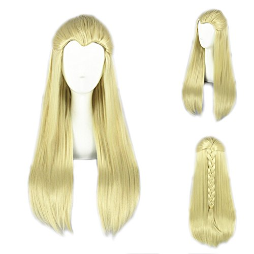 Xcoser Thranduil Fairy Cosply Wig For Cosplay Costume (Thranduil Costume)