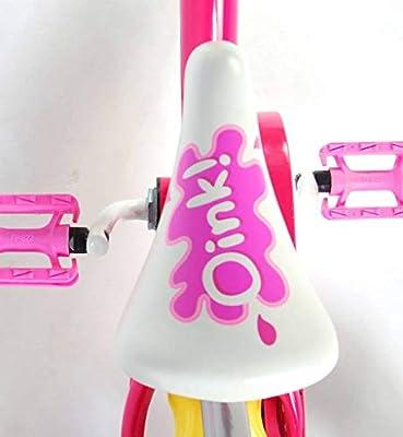 Peppa Pig - Bicicleta Infantil con caña de Empuje, Color Fucsia ...