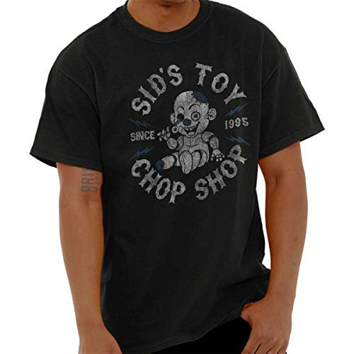 SIDS Toy Chop Shop Funny Cool Nerdy Geeky T Shirt Tee Black]()