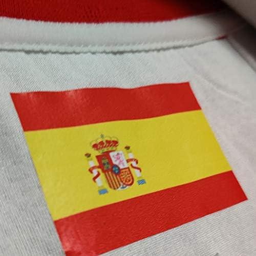 WOLFIRE WF Camiseta de España 2019 para Hombre, Mundial de China. Llul, Gasol, Rubio. Estampado, Transpirable y Resistente al Desgaste Camiseta para Fan (Fernandez Blanco, 2XL): Amazon.es: Deportes y aire libre