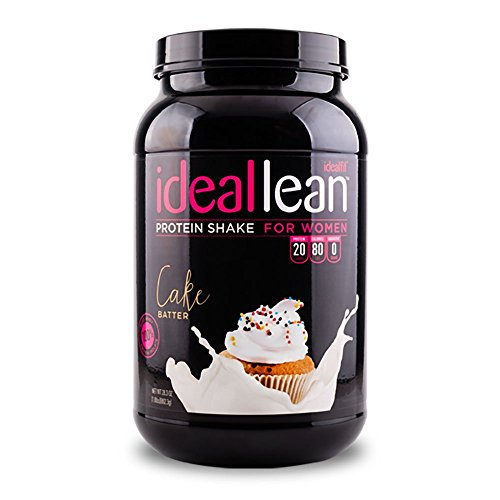 IdealLean-Protein-Powder-for-Women-20g-Whey-Protein-Isolate-Calcium-Folic-Acid-0g-Sugar-0g-Fat-0-Carbs-30-Serving