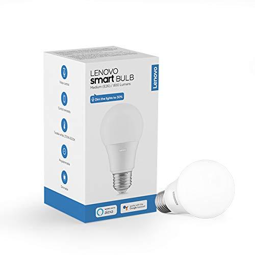 Lenovo ZG38C02546 Smart Light Bulb, White
