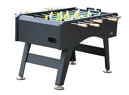 Best Foosball Tables - KICK Foosball Table Topaz Black, 55 in