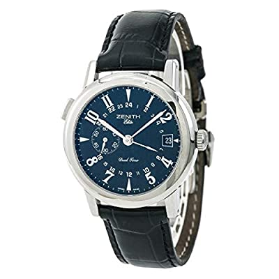 Zenith Elite Port Royal V Dual Time Automatic-self-Wind Male Watch 01/02.0451.682 (Certified Pre-Owned) by Zenith