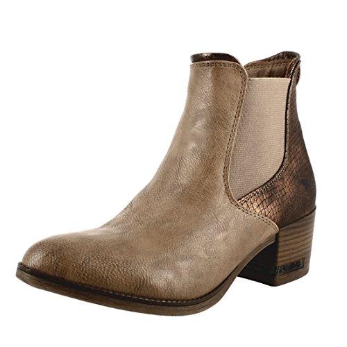Mustang Chelsea Boots Beige Beige