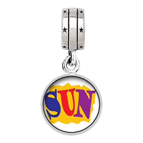 Silver Plated Summertime Sun Photo