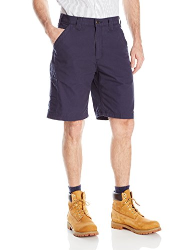 Carhartt Men's Canvas Work Short, Navy, 42 Carhartt Relaxed Fit Carpenter Pant
